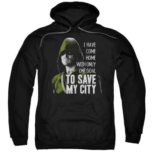 Arrow TV Series Save My City Hoodie