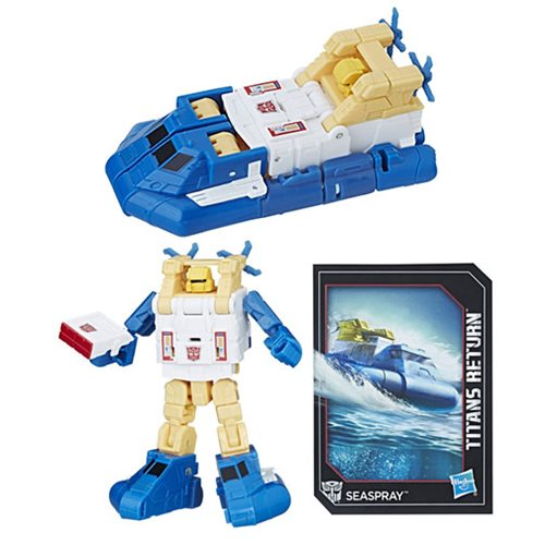 Transformers Generations Titans Return Legends Seaspray