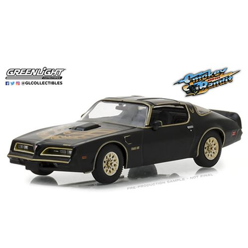 Smokey and the Bandit 1977 Pontiac Firebird Trans Am 1:43 Scale Die-Cast Metal Vehicle