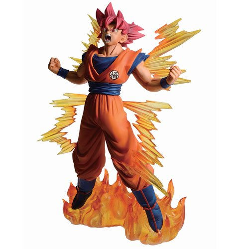 Dragon Ball Super Super Saiyan God Goku Ichiban Statue