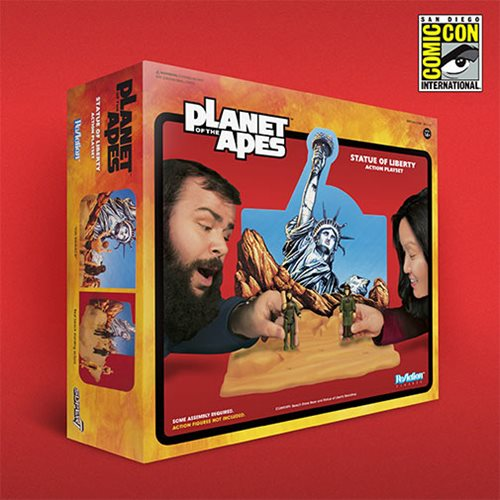 Planet of the Apes Statue of Liberty Action Playset