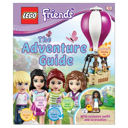 LEGO Friends: The Adventure Guide Hardcover Book