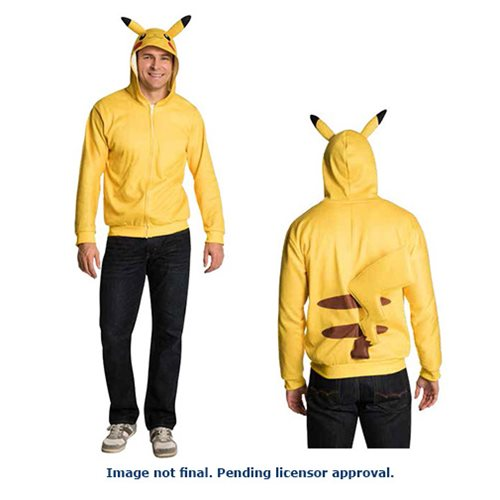 Pokemon Pikachu Hooded Costume