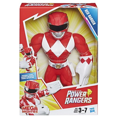 Power Rangers Mega Mighties Action Figures Wave 2 Case