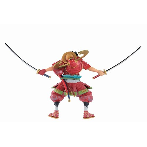 One Piece Armor Warrior Luffytaro Ichiban Statue