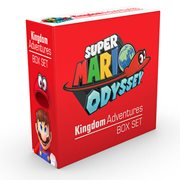 Super Mario Odyssey Kingdom Adventures Box Set Hardcover Book