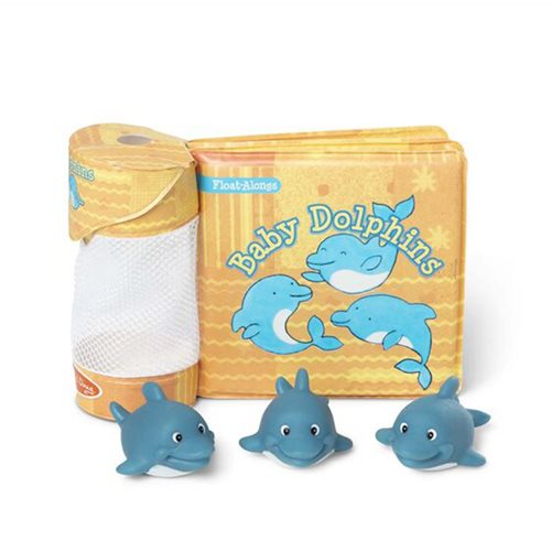 Melissa & Doug Baby Dolphins Float-Alongs Book