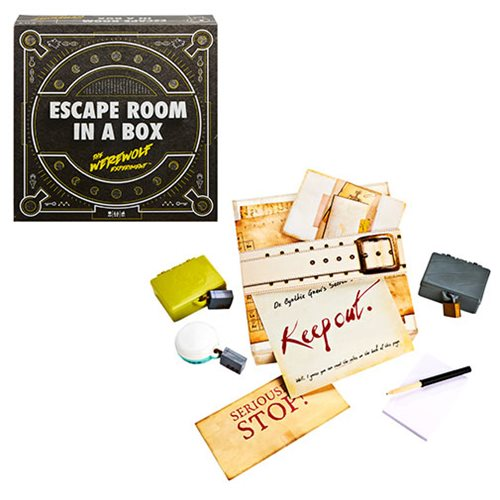 Escape Room in a Box: The Werewolf Experiment Game
