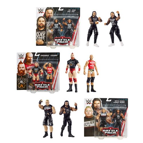 WWE Basic Series 52 Action Figure 2-Pack Set