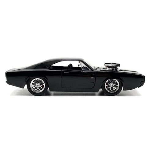 Fast and the Furious 1970 Dodge Charger Street 1:24 Scale Die-Cast Metal Vehicle