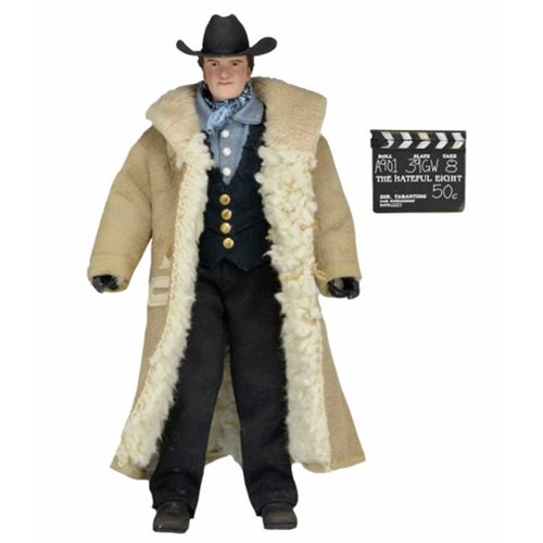 The Hateful Eight Movie Quentin Tarantino Clothed 8-Inch Action Figure