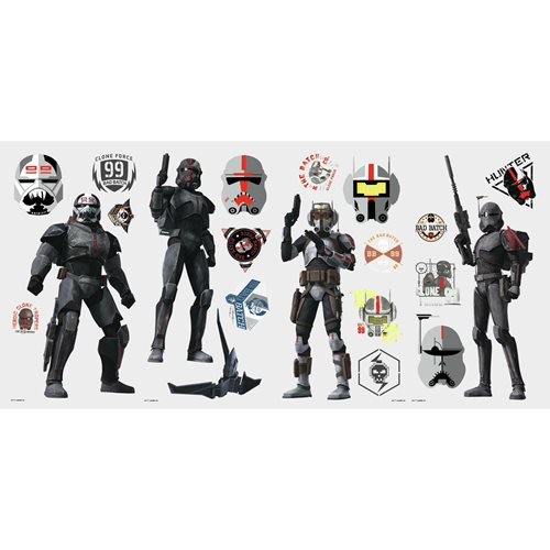 Star Wars: The Bad Batch Peel and Stick Wall Decals