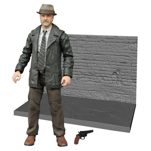 Gotham TV Series Detective Harvey Bullock Select Action Figure