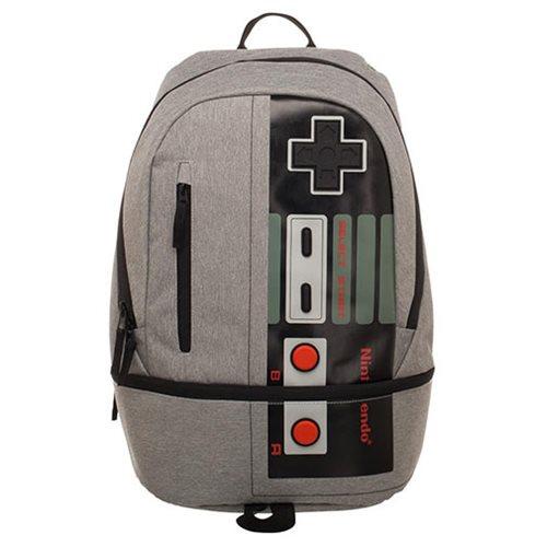 1525a093d24d Nintendo Controller Bottom Zip Backpack - Entertainment Earth