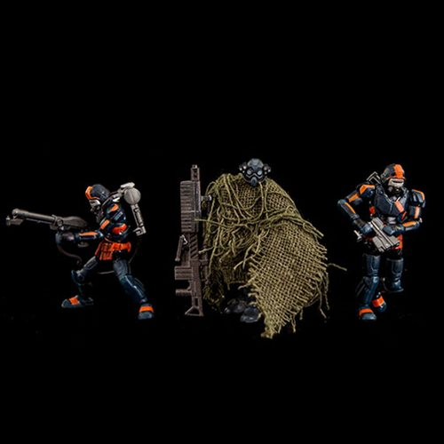 Acid Rain B2Five Abaddon Flame Trooper Action Figure 3-Pack
