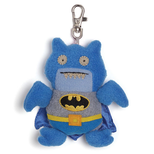 DC Comics Blue Batman Uglydoll Ice Bat Clip-On Backpack Plus