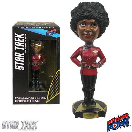 Star Trek II: The Wrath of Khan Commander Uhura Bobble Head