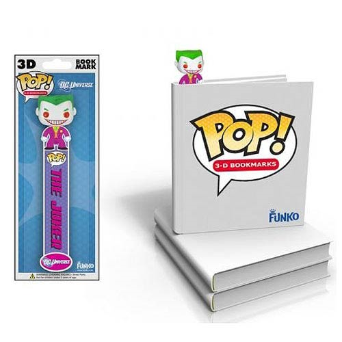 Batman The Joker Pop! Vinyl 3-D Bookmark