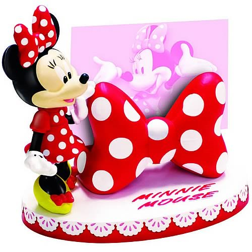 Disney minnie mouse business card holder statue entertainment earth disney minnie mouse business card holder statue colourmoves