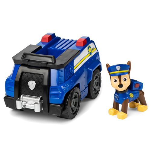 PAW Patrol Chase's Patrol Cruiser Vehicle and Figure