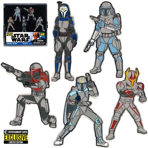 Star Wars Mandalorians Enamel Pin 5-Pack - EE Exclusive