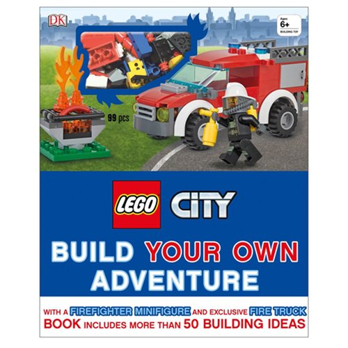 LEGO City: Build Your Own Adventure Book