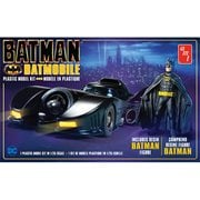 Batman 1989 Movie Batmobile with Batman Figure Model Kit