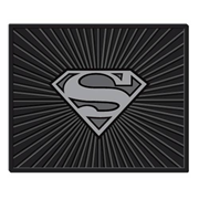 Superman Silver Shield Rubber Utility Mat