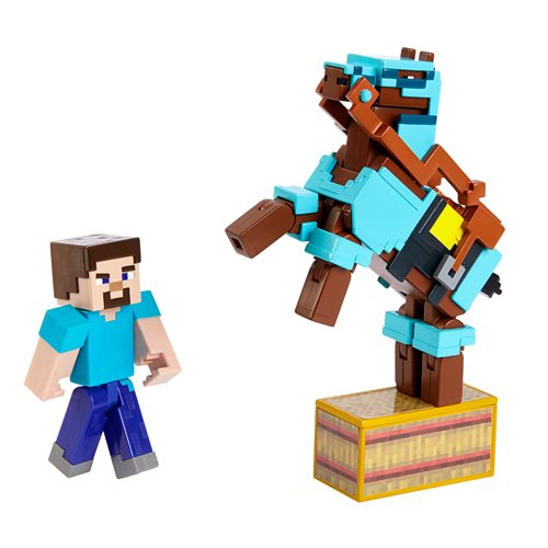 Minecraft Comic Maker 2-Pack Action Figure Wave 1 Case