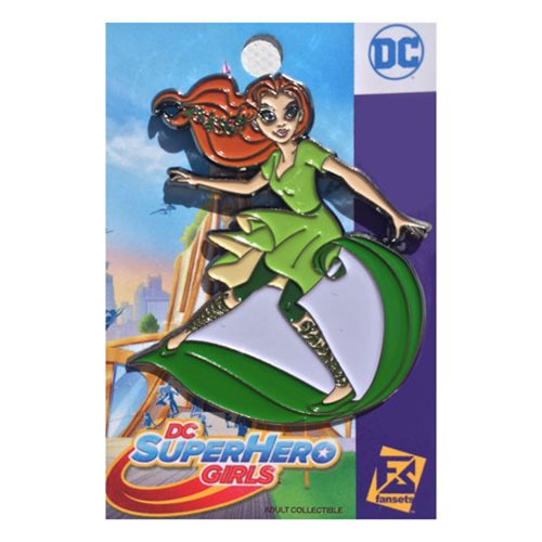 DC Superhero Girls Poison Ivy Pin