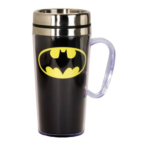 Batman 14 oz. Stainless Steel Travel Mug
