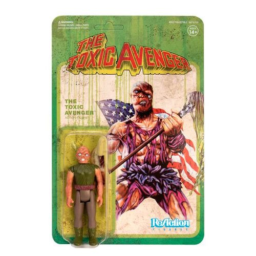 Toxic Avenger Authentic Edition ReAction Figure