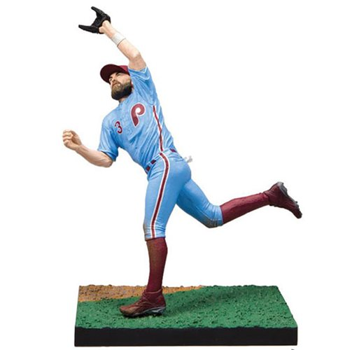 MLB The Show 19 Bryce Harper Action Figure, Not Mint