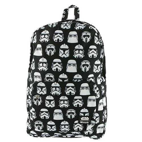 Star Wars Troopers Black and White Print Backpack