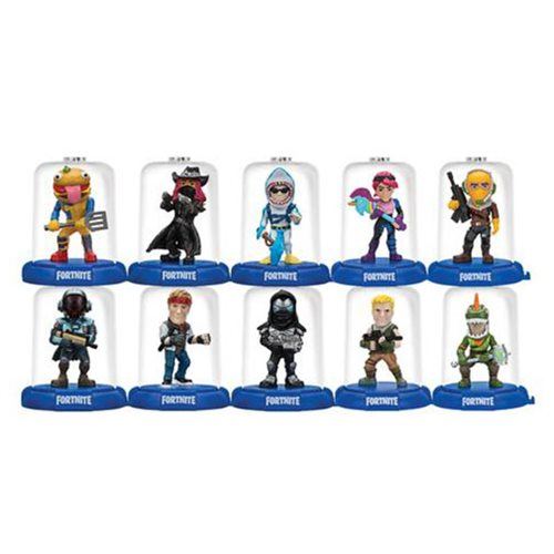Fortnite Domez Series 2 Mini-Figures Blind Box 18-Pack Display Tray
