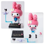 Sanrio Hello Kitty Chogokin Onegai My Melody Die-Cast Metal Action Figure