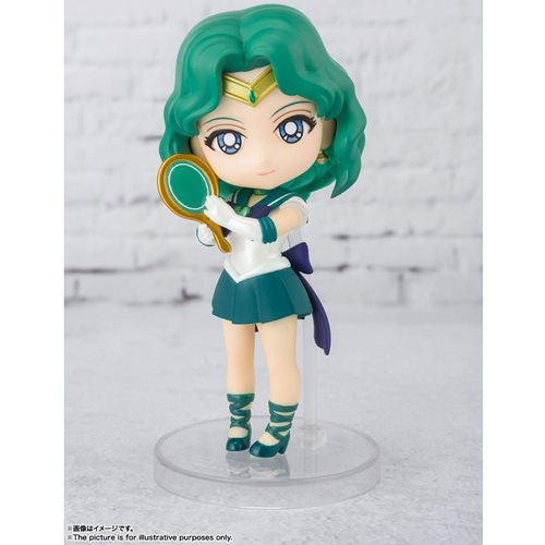 Sailor Moon Eternal Super Sailor Neptune Eternal Edition Figuarts Mini-Figure