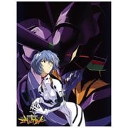 Evangelion Rei Sublimination Throw Blanket
