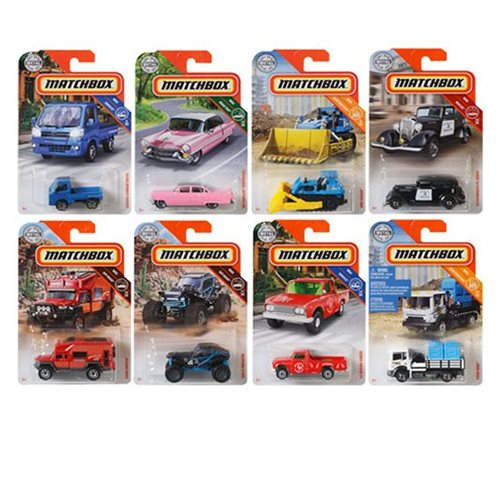 Matchbox Car Collection 2019 Mix 10 Case