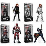 Black Widow Movie Pin Assortment Case