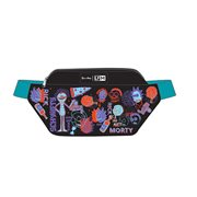 Rick and Morty Neon Fanny Pack