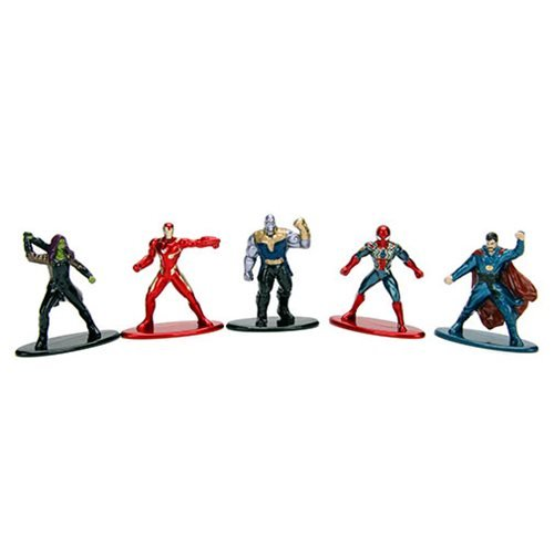 Marvel Nano Metalfigs Die-Cast Mini-Figures SPIDER-MAN 2 5 packs new