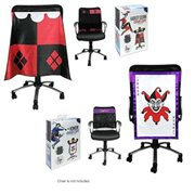 DC Classic The Joker and Harley Quinn Chair Cape Set