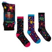Stranger Things Palace Arcade Graphics Crew Sock 3-Pack
