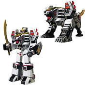 MMPR White TigerZord Legacy MegaZord Die-Cast Action Figure