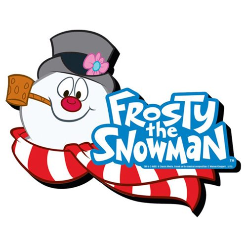 Frosty the Snowman Logo Funky Chunky Magnet
