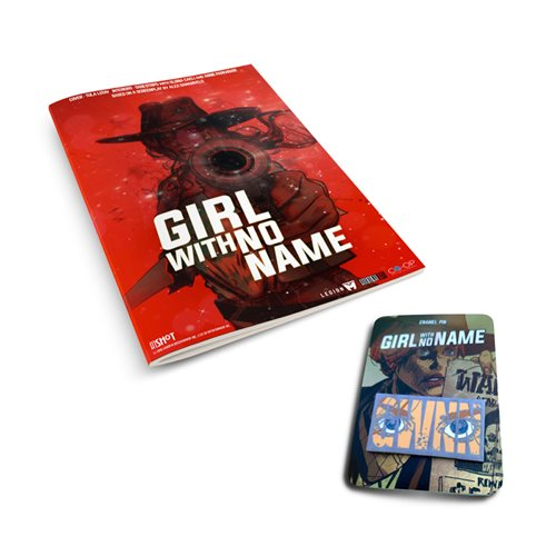 Girl With No Name Comic and Pin Set - Convention Exclusive