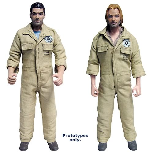 Lost Series 1 Jack & Kate, Sawyer & Juliet Action Figure Set