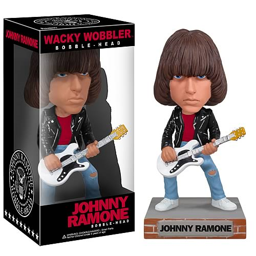 Johnny Ramone Wacky Wobbler Ramones Bobble Head