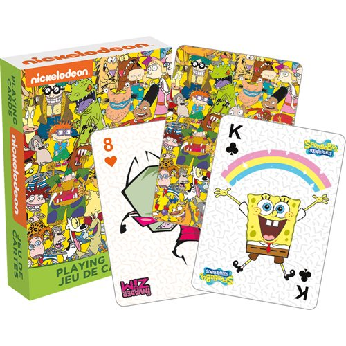 Nickelodeon Cast Playing Cards